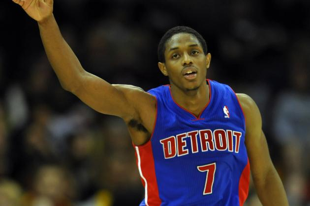Tough Pistons Guard Brandon Knight Plays Through Injuries