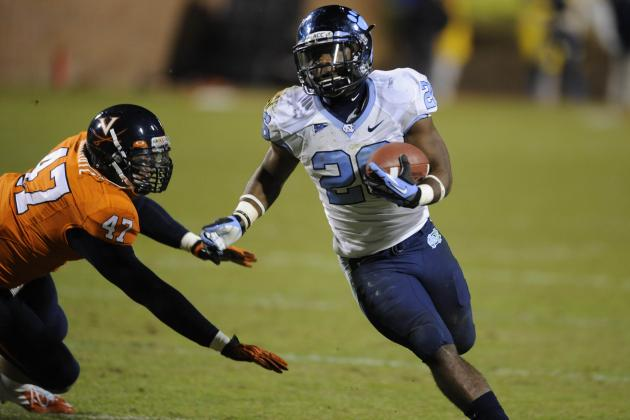 North Carolina RB Giovani Bernard Officially Enters NFL Draft