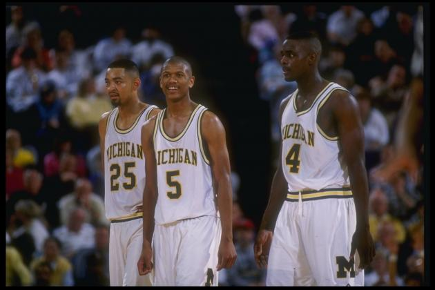Glen Rice, Rumeal Robinson on NCAA's 'March Madness' Celebration List