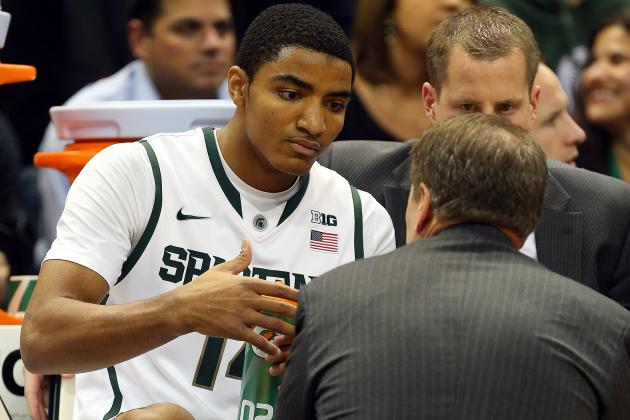 Spartans' Gary Harris Is Big Ten Freshman of Week
