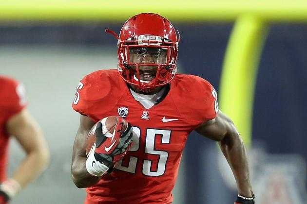 Arizona's Ka'Deem Carey Has New Status: Consensus All-American