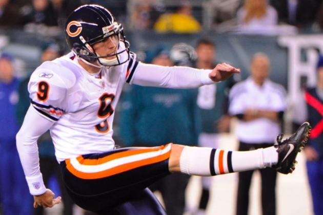 Chicago Bears Place Kicker Robbie Gould on Injured Reserve