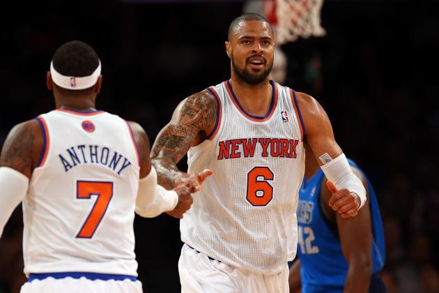 Is Carmelo Anthony or Tyson Chandler More Important to NY Knicks Success?