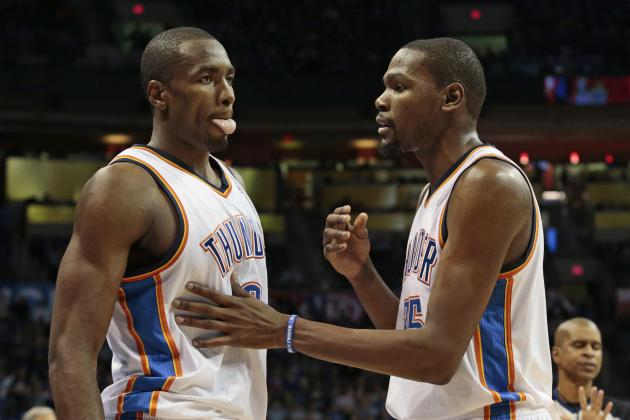 Kevin Durant Threw Birthday Bash for Serge Ibaka's Singer Girlfriend Keri Hilson