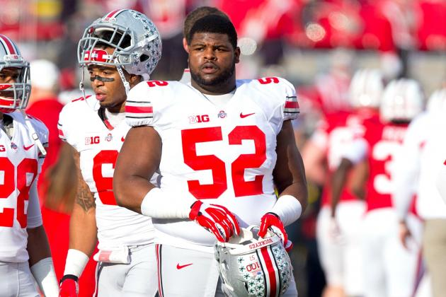 How Johnathan Hankins Declaring for NFL Draft Affects Ohio State Football in '13