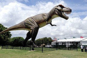 Giant T-Rex Sparks Venue Change Down Under