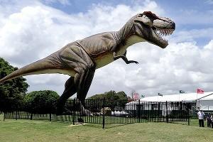 Giant T-Rex Sparks Venue Change Down Under
