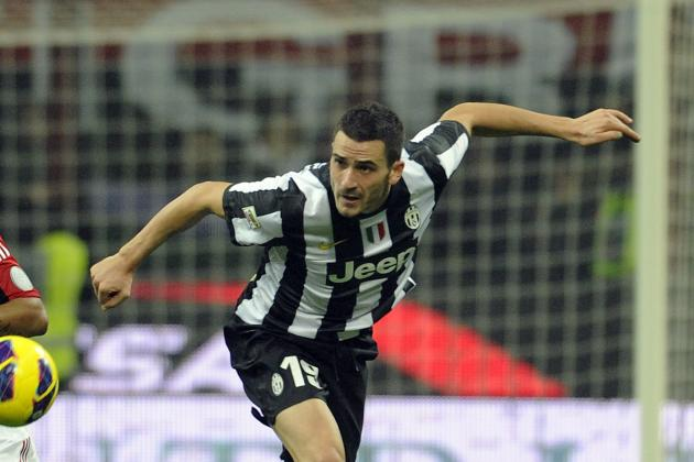 Juventus' Leonardo Bonucci Banned After Dive