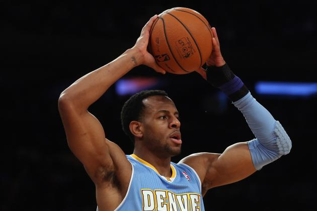 Denver Nuggets SG Andre Iguodala Has Had a Rough Road Trip