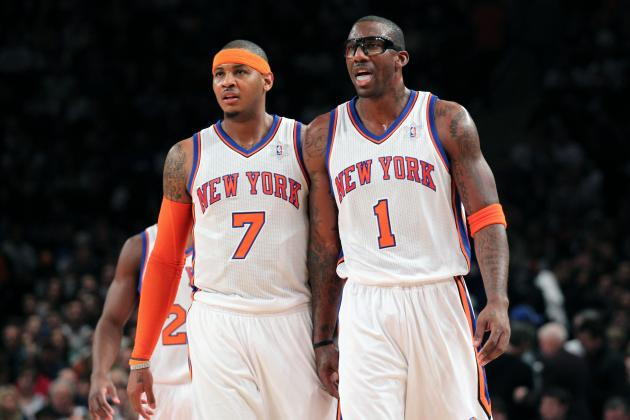 Will Amar'e Stoudemire's Return Help or Hurt Carmelo Anthony's MVP Candidacy?