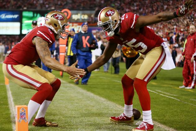 Crabtree on Playing with Colin Kaepernick: 'The Sky's the Limit for Us'