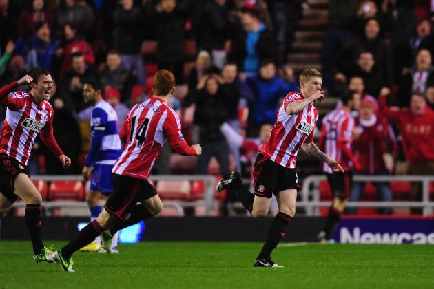 Sunderland Jump out of Bottom 3 with Victory over Reading