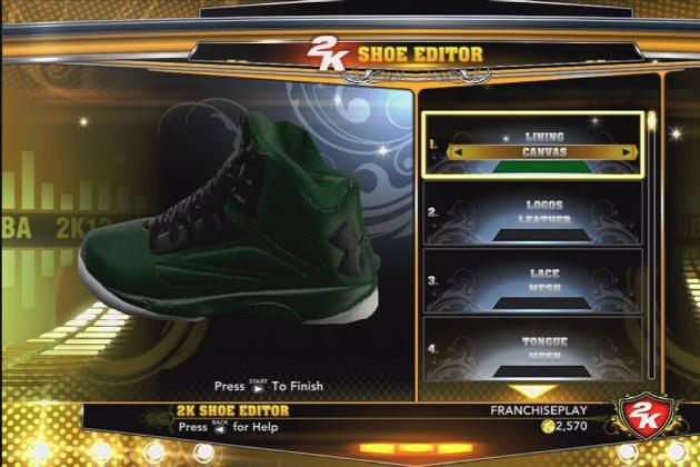NBA 2K13: How to Unlock Under Armour Torch Shoe