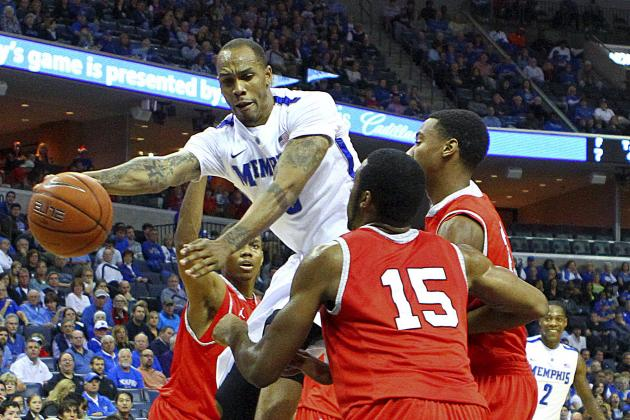 Memphis Tigers Senior Forward Adjusting to Less Minutes