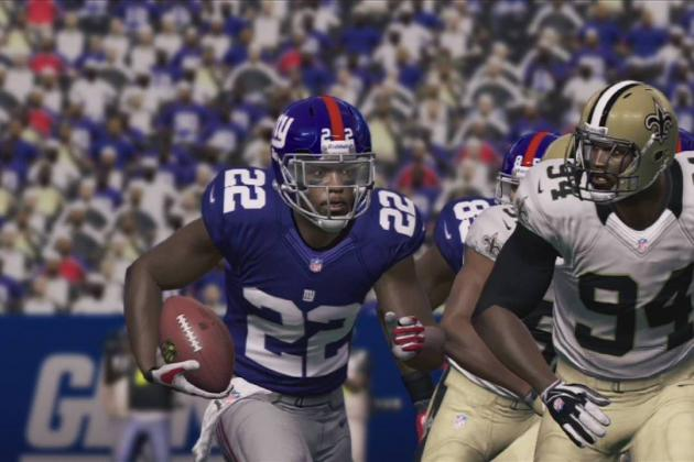 Madden 13: David Wilson Receives Ratings Boost after 3-TD Performance