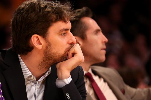 Lakers GM Says He Can't Really Evaluate Team Yet, Plan Is to Keep Gasol,