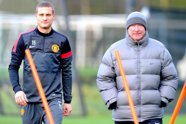 Manchester United Confirms Nemanja Vidic Will Make Return vs. Sunderland