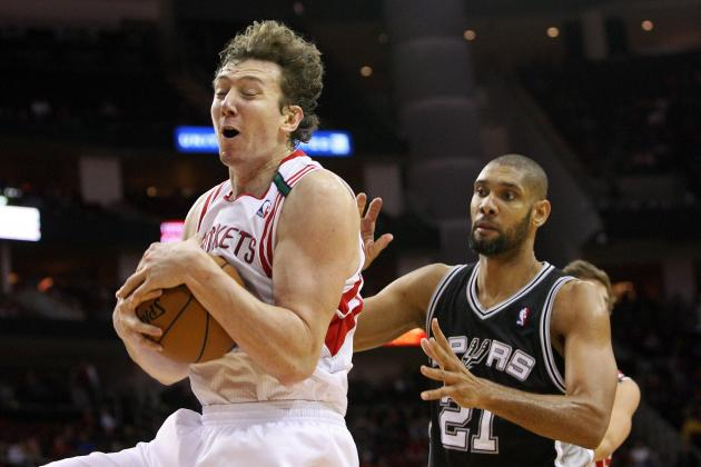 Rockets' Asik Receives Warning for Violating NBA's Anti-Flopping Policy