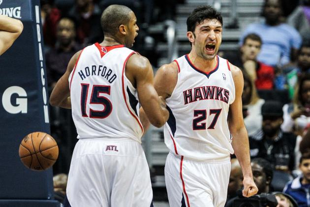 Hawks' Pachulia Receives Warning for Violating NBA's Anti-Flopping Policy