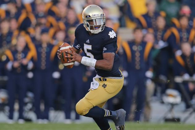 Notre Dame Football: Can Everett Golson Throw on Alabama's Secondary?