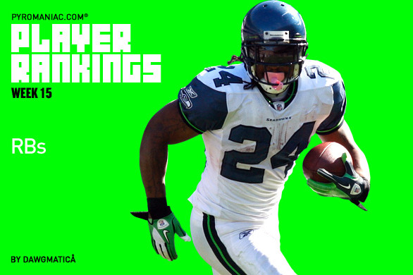 Fantasy Football Week 15: Rankings for the Top 50 Running Backs