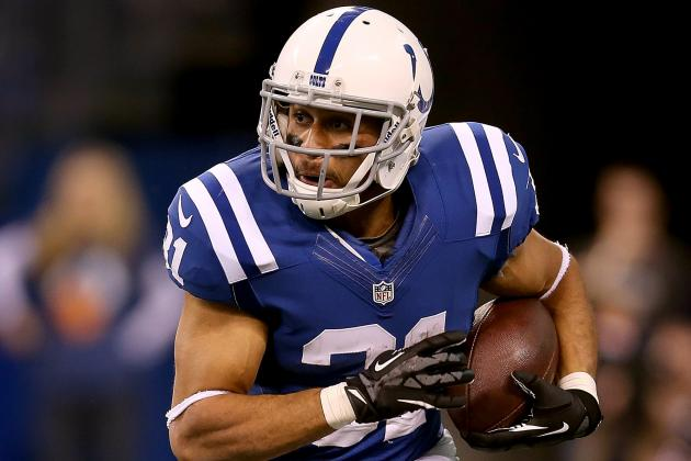 Colts Lose RB Donald Brown for the Season