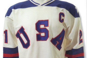 Mike Eruzione's 'Miracle on Ice' Stick, Jersey Going Up for Bid