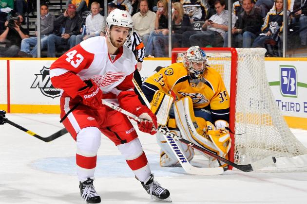 Will the Detroit Red Wings' Darren Helm Live Up to His New Contract?