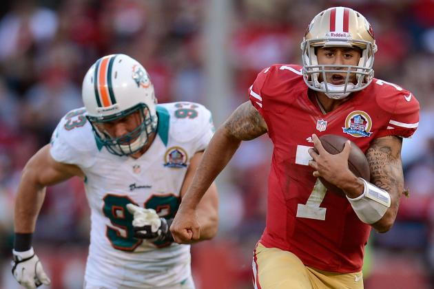Breaking Down Colin Kaepernick's 50-Yard Touchdown Run