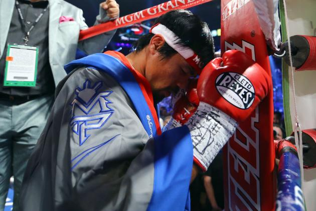 Manny Pacquiao Vows 'There Will Be More Fights'