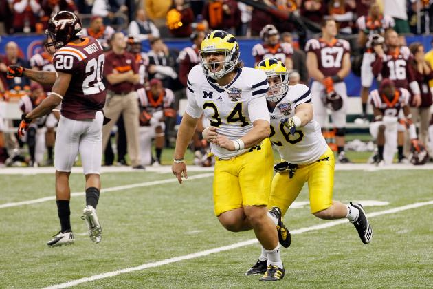 Michigan Football: Could Rags-to-Riches Story Continue for Brendan Gibbons?
