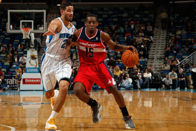 Jordan Crawford Fills in at Point Guard as Washington's Third Win Is an Ugly One