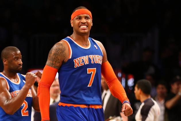 Why Carmelo Anthony Is Winning and Kobe Isn't