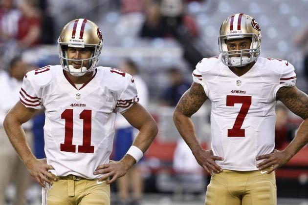 Colin Kaepernick Is Jim Harbaugh's Guy, but Would He Ever Go Back to Alex Smith?