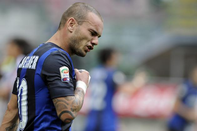 Wesley Sneijder: Picking a Manchester United XI to Include the Dutchman