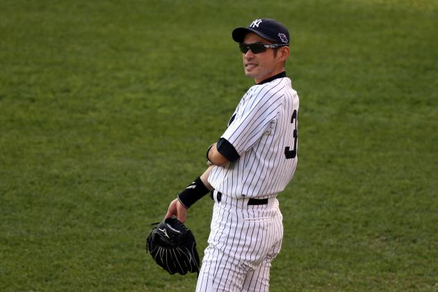 MLB Free Agency 2013: New York Yankees to Re-Sign Ichiro Suzuki