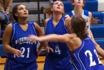 Bloomington South Girls Basketball Team Beats Arlington 107-2
