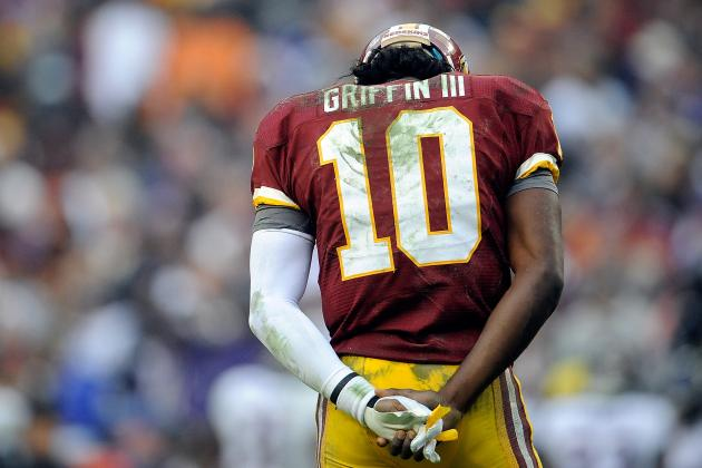 Robert Griffin III Not Ruled Out, and More NFC East News