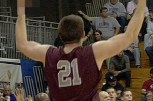 St. Joe's Forward Halil Kanacevic Gives Crowd Middle Finger