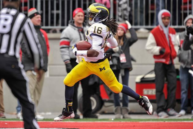 Kiper: Denard's Catching Ability Will Determine His Draft Stock
