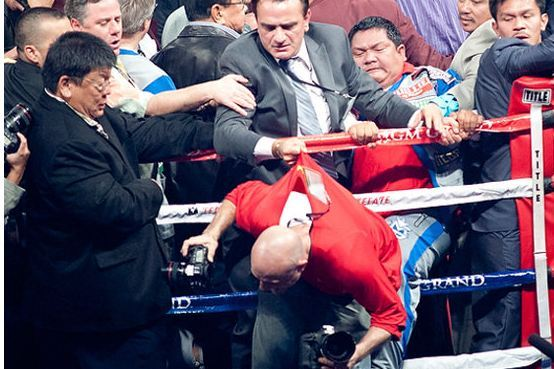 Manny Pacquiao Aides Allegedly Attacked Photographer After Brutal Knockout