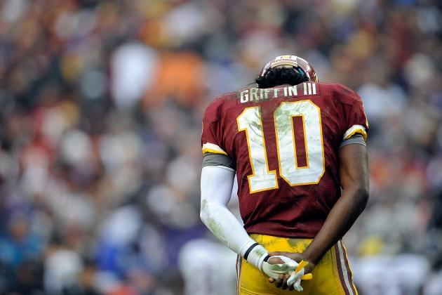 Robert Griffin III Injury: Redskins' Playoff Odds Rest on Rookie's Knee