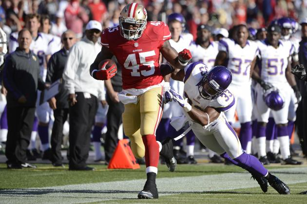 Brandon Jacobs: 49ers Should Release Veteran RB to Avoid Distractions