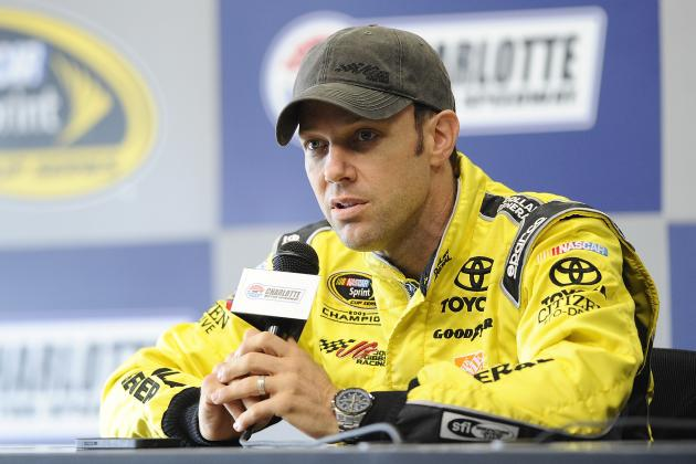 Matt Kenseth Nervous in First Test with Joe Gibbs Racing