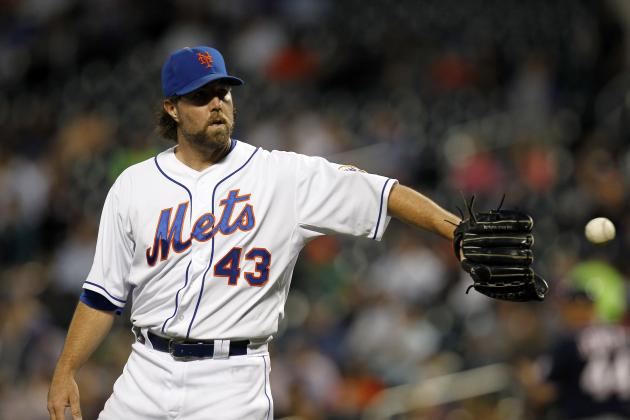 R.A. Dickey Is Not Pleased with the Mets' Latest Offer