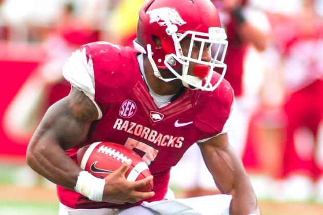 Arkansas Running Back Knile Davis Officially Declares for 2013 NFL Draft
