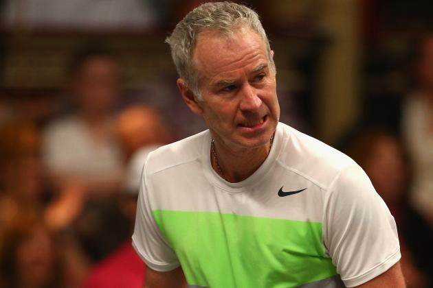 Notoriously Grumpy McEnroe Tells Murray to Cheer Up