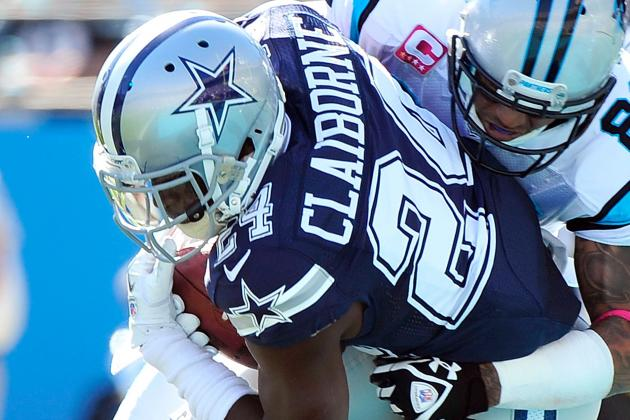 DeMarco Murray and Morris Claiborne Miss Practice