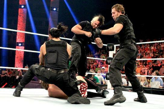 WWE TLC 2012 Results: The Shield Defeat Ryback and Team Hell No