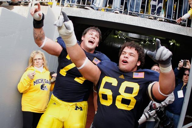 Michigan OL Taylor Lewan Returning for Senior Season